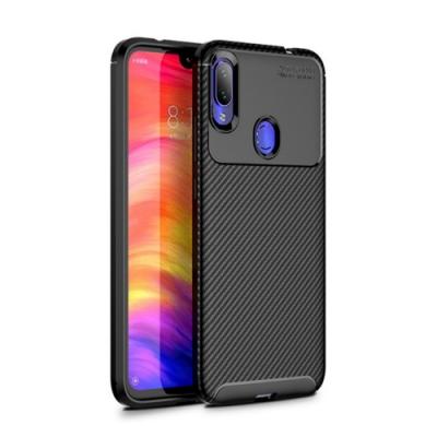 PKG 小米Mix3 手機殼時尚碳纖紋路+抗指紋-NEW