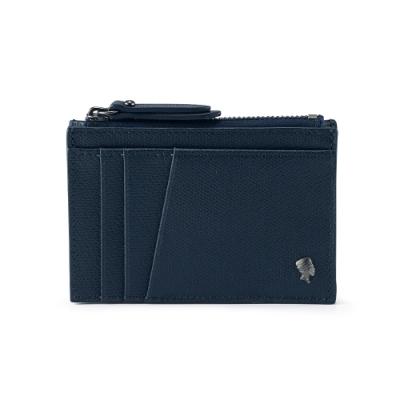 PORTER - 個性主宰LOGIC鏤空卡夾/零錢包 - 深藍
