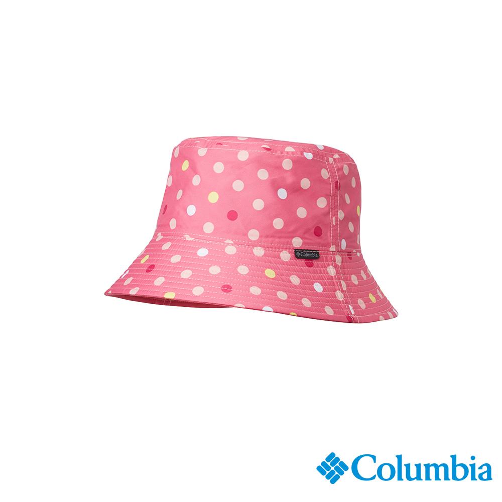 Columbia 哥倫比亞 兒童-UPF50兩面遮陽帽-粉紅UCY00750PK