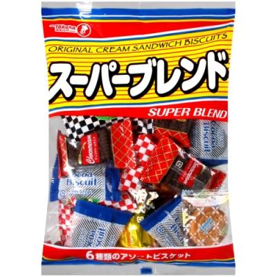寶製果 SUPER BLEND綜合夾心餅乾(294g)
