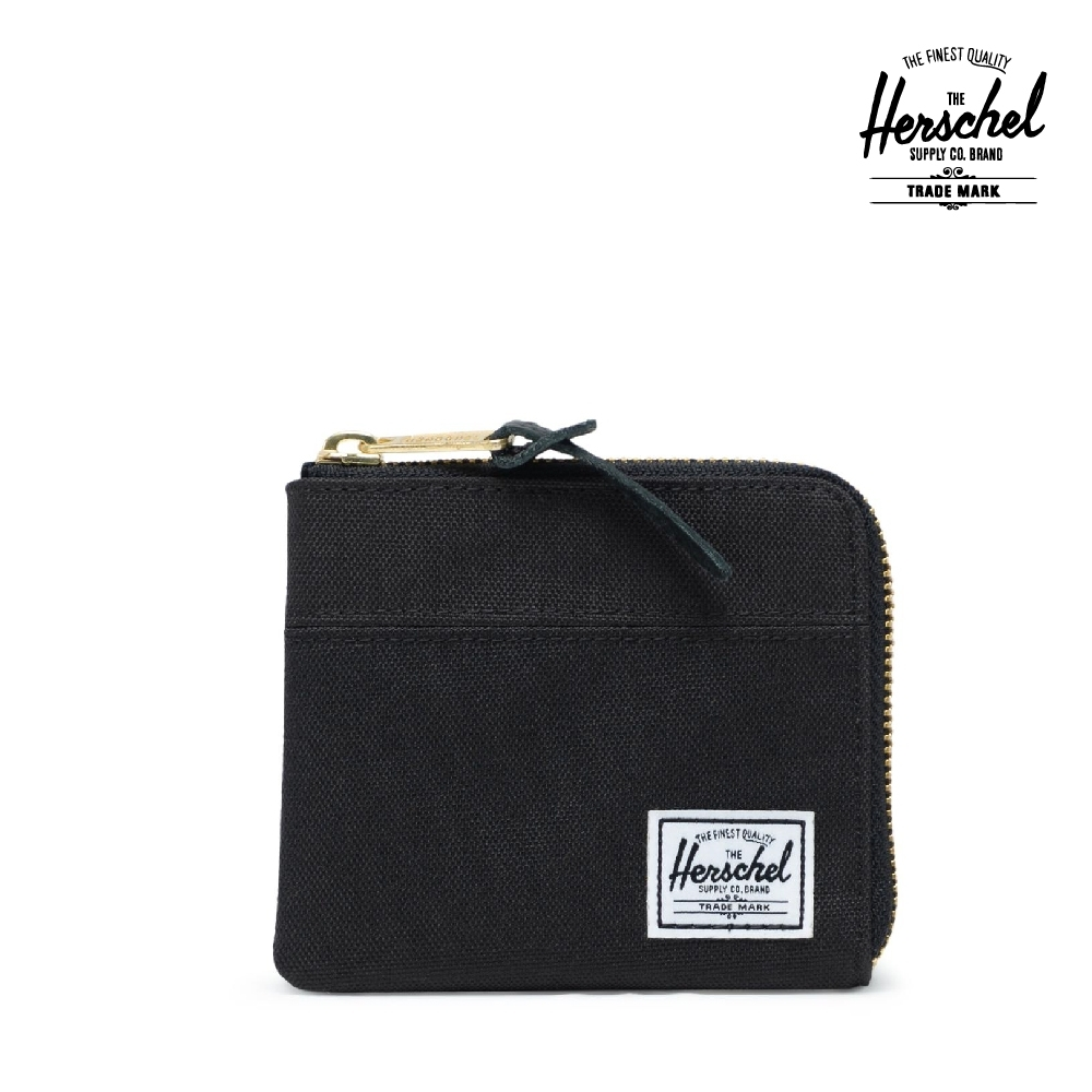 【Herschel】Johnny 零錢包-黑色