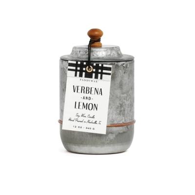 PADDYWAX 美國香氛 Homestead系列 檸檬馬鞭草 復古工業風錫罐 340g