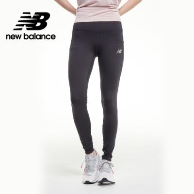 【New Balance】IMPACT RUN 彈性緊身褲_女性_黑色_WP03288BK