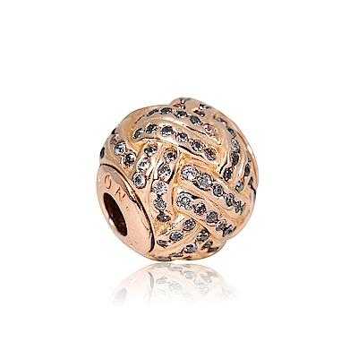 Pandora 潘朵拉 Essence系列感情玫瑰金 純銀墜飾 串珠