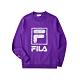 FILA 長袖圓領T恤-紫色 1TEU-5506-PL product thumbnail 1