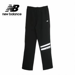 【New Balance】女Q彈性厚窄版長褲_女性_黑色_6872040