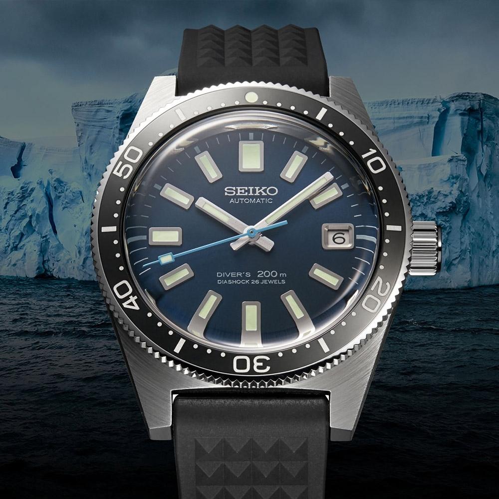 SEIKO 精工 Prospex 55週年限量款 200米潛水機械錶(SLA043J1/8L35-01C0B)-39.9mm