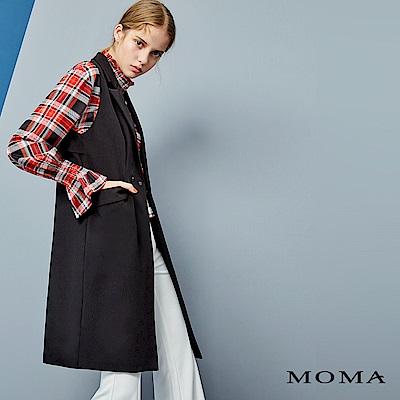 MOMA 長版無袖西裝背心