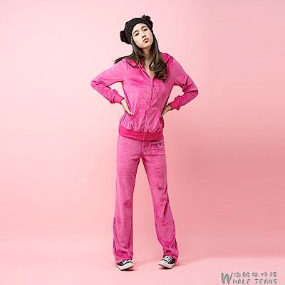 WHALE JEANS 舒適熱銷魅力天鵝絨運動休閒服裝-3款