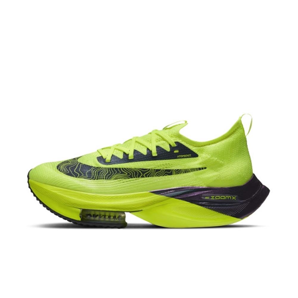 NIKE AIR ZOOM ALPHAFLY NEXT% FK 男慢跑鞋-螢光黃-DC5238702
