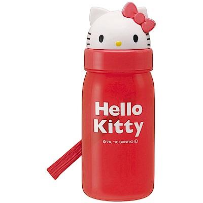 WAVA 日本SKATER Hello Kitty立體造型水壺350ml(快)
