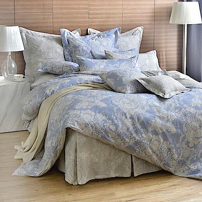 英國Abelia 蘭陵世紀 雙人純棉五件式被套床罩組