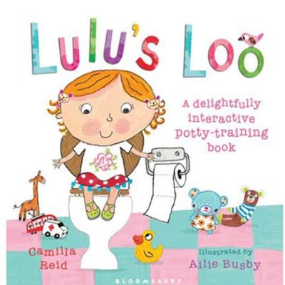Lulu s Loo 可愛Lulu上廁所趣味操作書