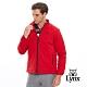 【Lynx Golf】男款3X DRY吸汗速乾防潑水鋪棉長袖外套-暗紅色 product thumbnail 2
