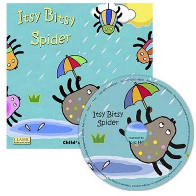 Itsy Bitsy Spider 小小蜘蛛向上爬CD書