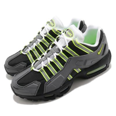 Nike 休閒鞋 NDSTRKT AM 95 運動 男鞋 街頭風 氣墊 避震 經典創新 反光 穿搭 黑 綠 CZ3591002