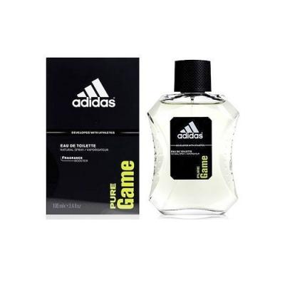 ADIDAS 愛迪達 PURE GAME 極限挑戰 運動男性香水 100ml