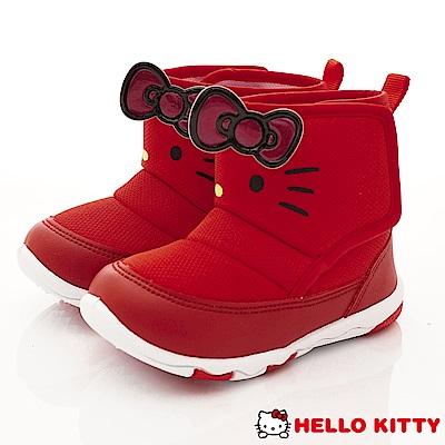 HelloKitty童鞋 凱蒂大蝴蝶結短靴款 SE18752紅(中小童段)