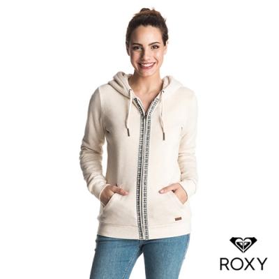 【ROXY】SIGNATURE SHERPA (Asian fit)內刷毛連帽外套米色