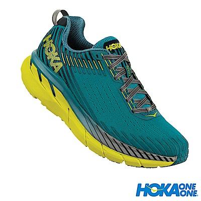 HOKA ONE ONE 男 Clifton 5 路跑鞋 科技網布 加勒比藍