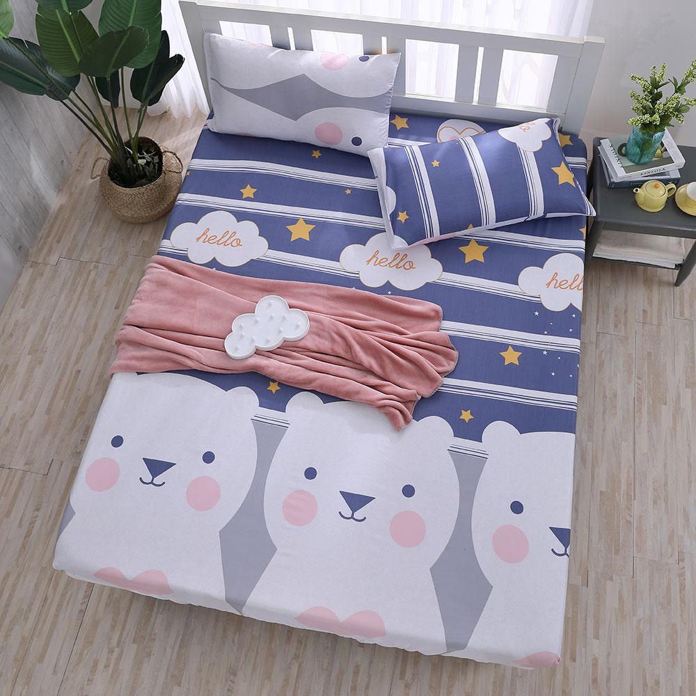 DESMOND岱思夢 單人 天絲床包枕套二件組(3M專利吸濕排汗技術) 南瓜塔