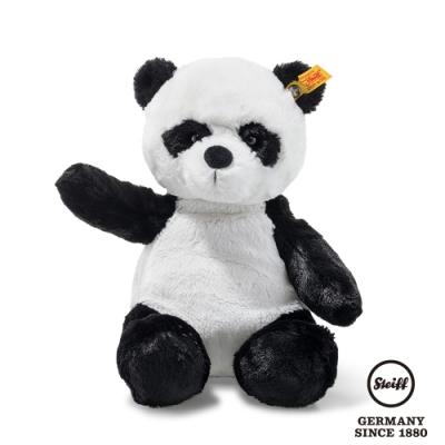 STEIFF德國金耳釦泰迪熊 Ming Panda 可愛貓熊(動物王國) 28cm