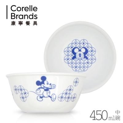 【康寧CORELLE】青花彩 450ml中碗-米奇 (426-MBL-LP)