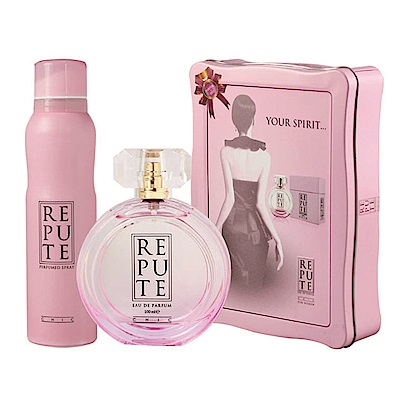 ALEDA REPUTE優雅女神珍藏香氛禮盒組 淡香精100ml+香水噴霧150ml