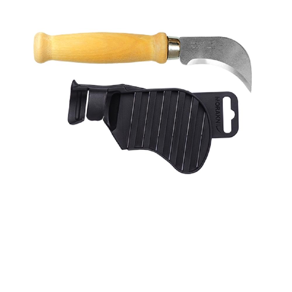 MORAKNIV Roofing Felt Knife 皮革/毛氈製品切割刀 木柄