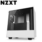 NZXT【H500】玻璃透側 ATX電腦機殼《白》