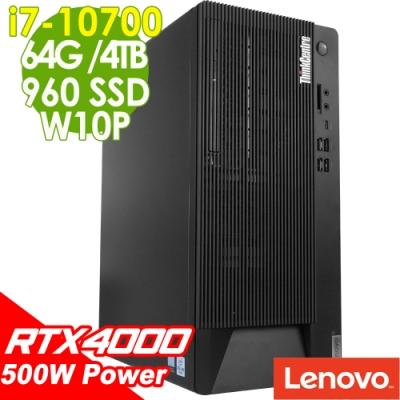 Lenovo M90T 繪圖工作站 I7-10700/RTX4000 8G/64G/960SSD+4TB/500W/W10P