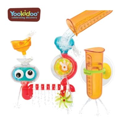 Yookidoo 以色列 洗澡/ 戲水玩具 - 大眼瀑布透視組