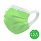 神煥 醫療口罩(未滅菌)兒童用-綠色(50入/盒) 專利可調式無痛耳帶 product thumbnail 1