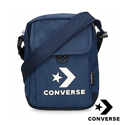 CONVERSE 經典側背包 藍 10008299-A03
