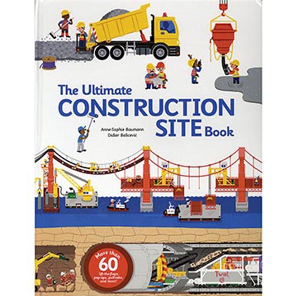The Ultimate Construction Site Book 建築營造大百科