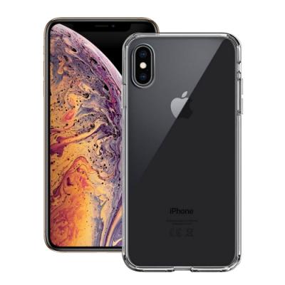 Xdoria for iPhone Xs Max 6.5吋 刀鋒 Crystal全透明軍規超厚晶透防摔殼
