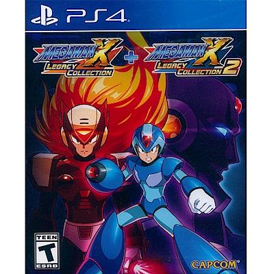 洛克人 X 週年紀念合集 1+2 Megaman X - PS4 中英日文美版