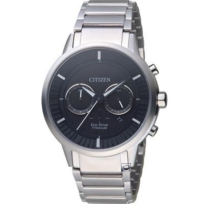 CITIZEN  關鍵時機 鈦金屬光動能錶(CA4400-88E)42mm
