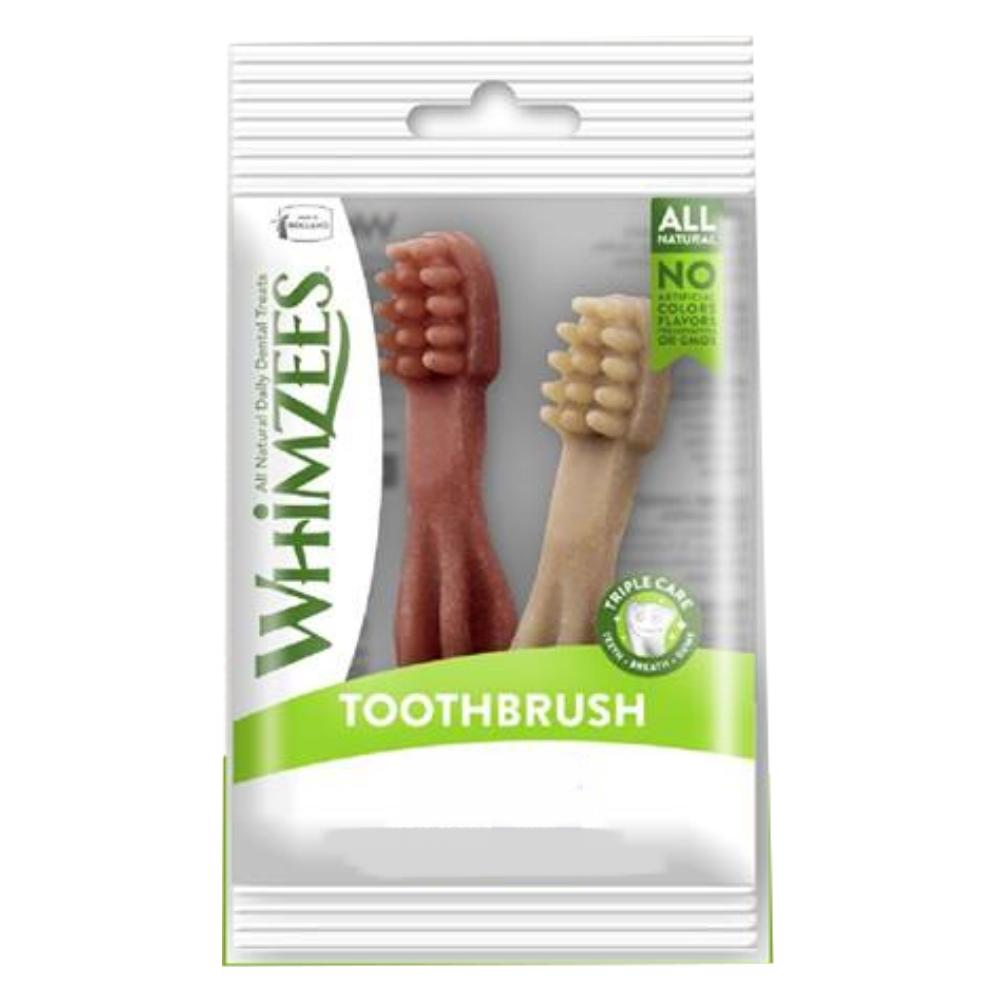Whimzees唯潔 牙刷型潔牙骨嚐鮮包 XS號