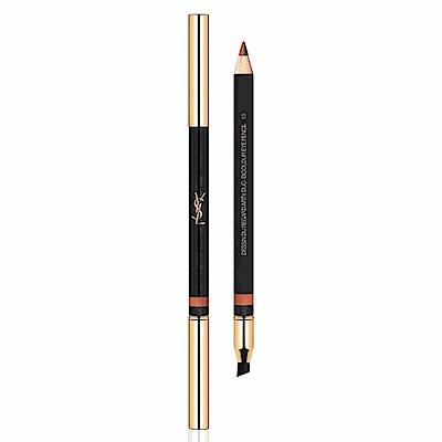 (即期品)YSL 街頭狂潮雙色眼線筆#10磚紅塗鴉 1.4g