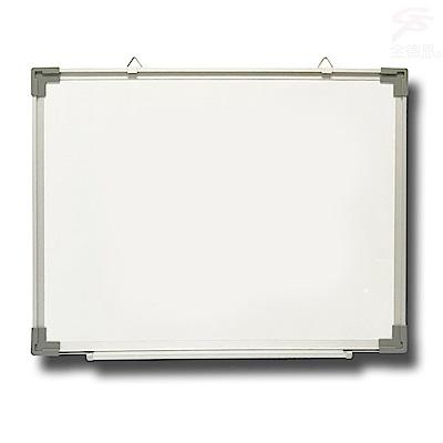 金德恩 吊掛式萬用磁性白板59x45cm (附筆槽支架)