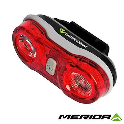 《MERIDA》美利達 紅光LED後燈 黑 2128001748