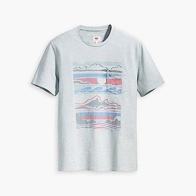 Levis X outerknown 男款 短袖T恤 海洋風印花 回收再造棉