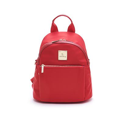 B.S.D.S冰山袋鼠-微醺小調x簡約美型手提後背包-薔薇紅