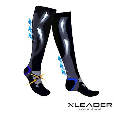 LEADER-加強漸進式運動長筒壓縮襪-腿套壓力襪