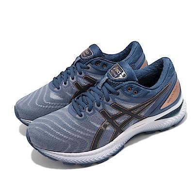 Asics 慢跑鞋 Gel-Nimbus 22 寬楦 男鞋