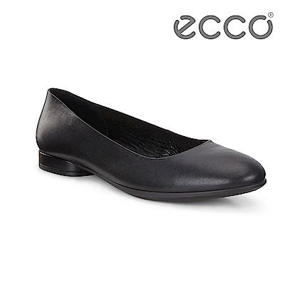 ECCO ANINE 輕彈躍芭蕾舞鞋 女-黑