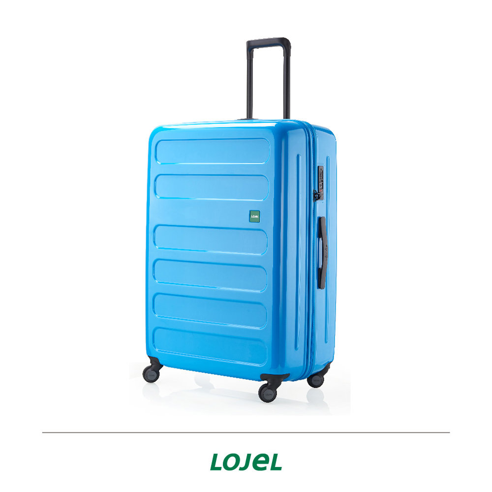LOJEL NOVA 31吋 雙齒防盜防爆拉鍊箱 行李箱 珠光海軍藍