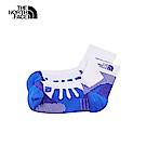 The North Face北面男女款藍白撞色舒適透氣運動襪 3RJED88