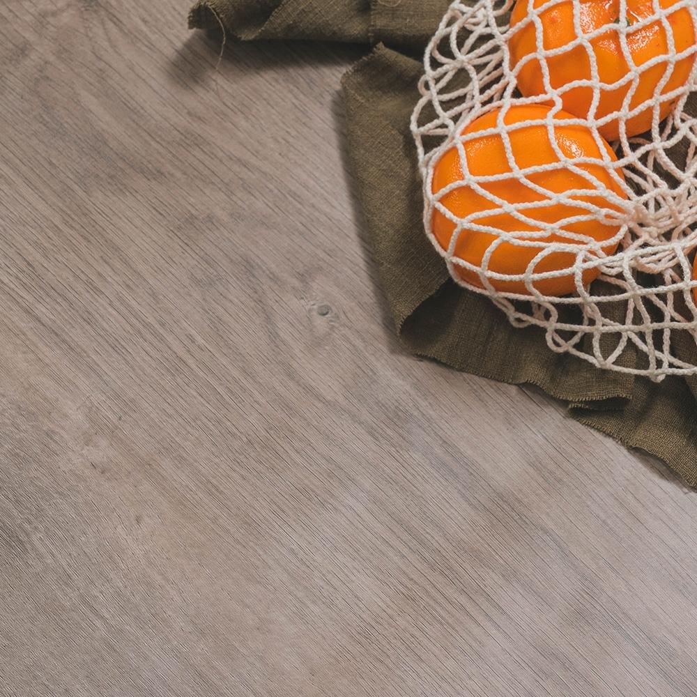 樂嫚妮 DIY裝修加厚防水仿木紋壁貼 60X300cm-灰橡木色